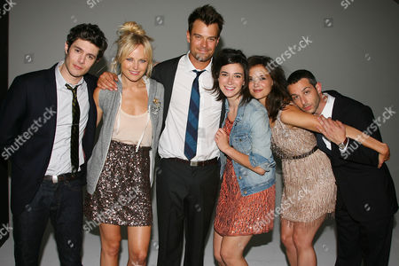 Adam Brody, Malin Akerman, Josh Duhamel, Rebecca Lawrence, Katie Holmes and Jeremy Strong