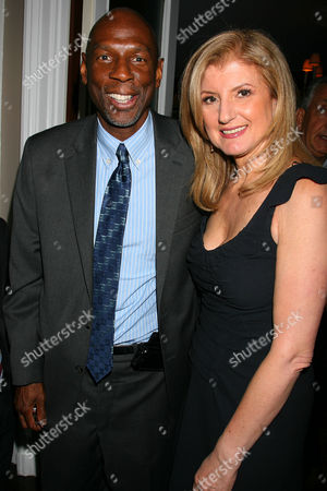 Geoffrey Canada (President & CEO of Harlem Children's Zone) and Arianna Huffington