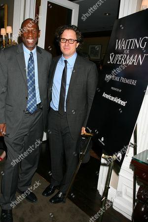 Geoffrey Canada (President & CEO of Harlem Children's Zone) and Davis Guggenheim