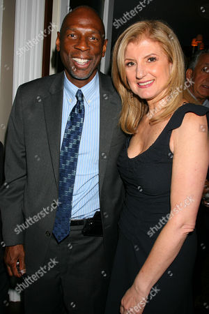 Geoffrey Canada (President & CEO of Harlem Children's Zone) and Arianna Huffington Arianna Huffington