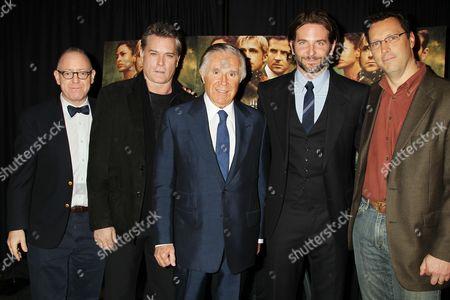 James Schamus, Ray Liotta, Sidney Kimmel, Bradley Cooper and Andrew Karpen