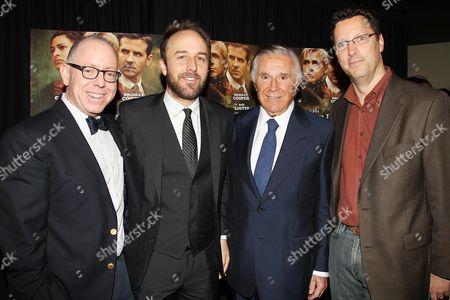 James Schamus, Derek Cianfrance (Director), Sidney Kimmel and Andrew Karpen