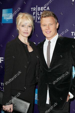 Ellen Barkin and Christopher Egan