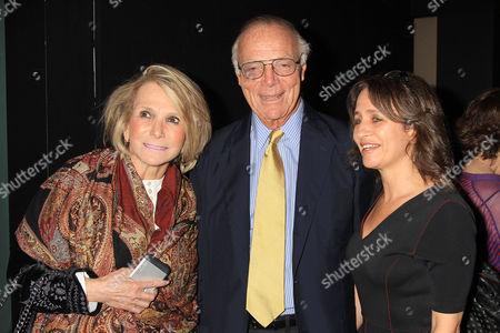 Sheila Nevins (President of Documentary HBO), Nick Pileggi, Lisa Heller (SVP, HBO Documentary Films)