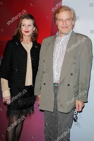 Stock Photo of Peter Martins (Director, New York City Ballet) and wife Darci Kistler