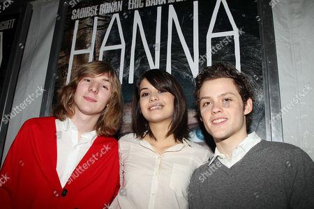 Danny Flaherty, Sofia Black Delia and James Newman