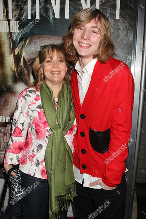 Danny Flaherty with Mother Cathy