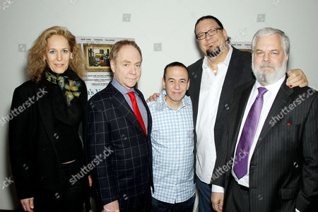 Farley Ziegler (Producer), Teller (Director), Gilbert Gottfried, Penn Jillette (Producer) and Tim Jenison