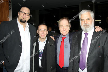 Penn Jillette (Producer), Gilbert Gottfried and Teller (Director), and Tim Jenison