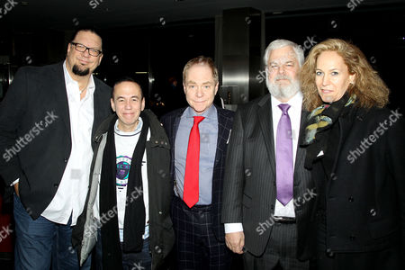 Penn Jillette (Producer), Gilbert Gottfried, Teller (Director), Tim Jenison and Farley Ziegler (Producer)