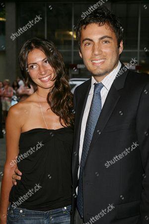 Stock Picture of Martina Borgomanero and Fabian Basabe