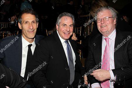 Michael Lynton, Roger Birnbaum and Sir Howard Stringer
