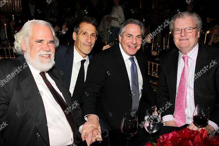 Jeff Blake, Michael Lynton, Roger Birnbaum and Sir Howard Stringer