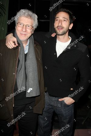 Adrien Brody and father Elliot Brody