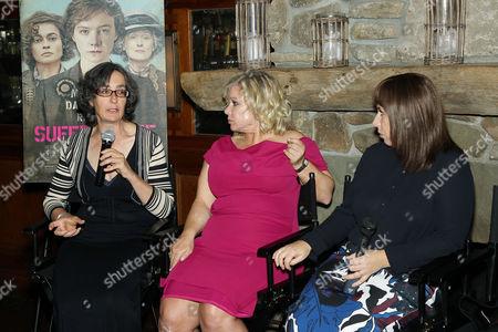 Dr. Helen Pankurst, Alison Owen (Producer), Abi Morgan (Writer)