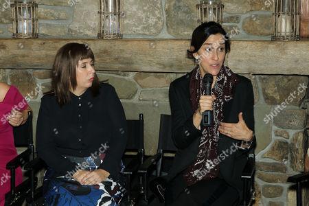 Abi Morgan (Writer), Sarah Gavron (Director)