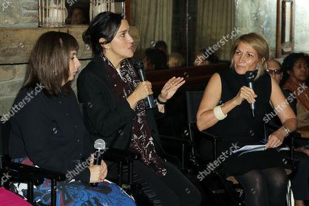 Abi Morgan (Writer), Sarah Gavron (Director), Marie Brenner (Moderator)