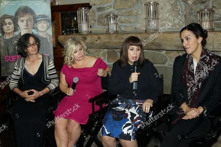 Dr. Helen Pankurst, Alison Owen (Producer), Abi Morgan (Writer), Sarah Gavron (Director)