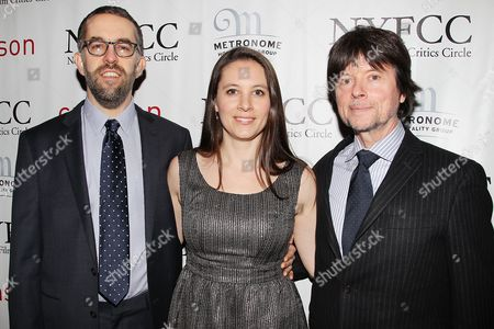 Stock Picture of David McMahon, Sarah Burns and Ken Burns