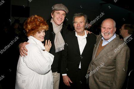 Cari Modine, Matthew Modine, Bob Shaye (Director) and Michael Lynne