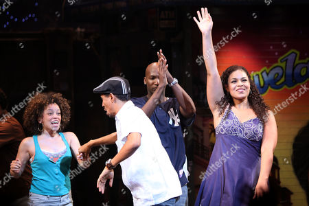 Marcy Harriell, Kyle Beltran, Clifton Oliver and Jordin Sparks