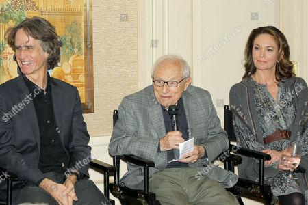 Stock Picture of Jay Roach (Director), Walter Bernstein (Moderator), Diane Lane