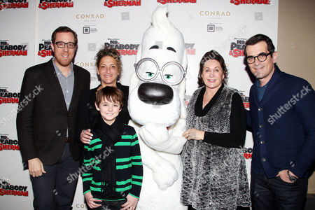 Editorial picture of 'Mr. Peabody and Sherman' film screening, New York, America - 09 Feb 2014