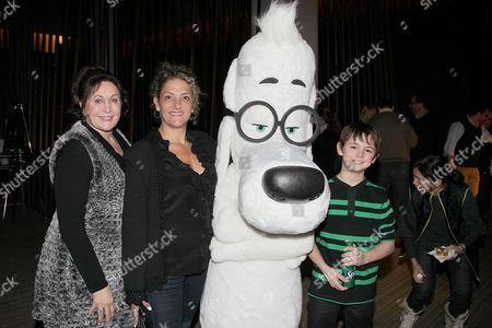 Editorial image of 'Mr. Peabody and Sherman' film screening, New York, America - 09 Feb 2014