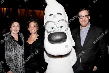 Stock Image of Tiffany Ward, Alex Schwartz, Mr.Peabody and Rob Minkoff
