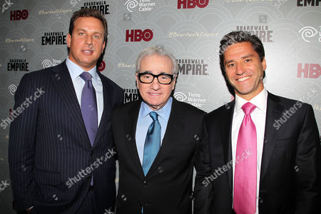 Jeff Hirsch, Martin Scorsese and Rob Marcus