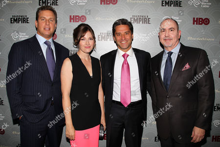 Jeff Hirsch, Kelly Macdonald, Rob Marcus and Terence Winter
