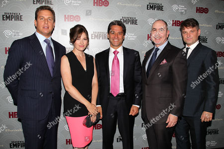 Jeff Hirsch, Kelly Macdonald, Rob Marcus, Terence Winter and Shea Whigham