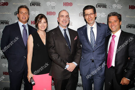 Jeff Hirsch, Kelly Macdonald, Terence Winter, Eric Kessler and Rob Marcus