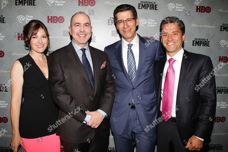 Kelly Macdonald, Terence Winter, Eric Kessler and Rob Marcus