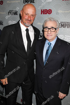 Tim Van Patten and Martin Scorsese
