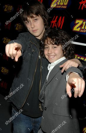 Nat Wolff and Alex Wolf (The Naked Brothers Band)