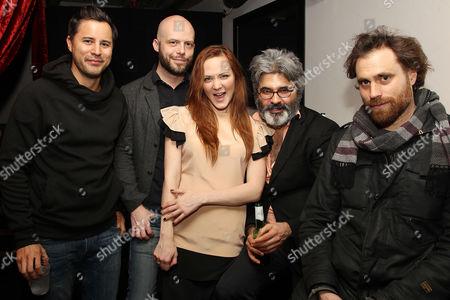 Stock Picture of Franck Raharinosy, Ted Geoghegan, Louisa Krause, Onur Tukel, Karl Jacob