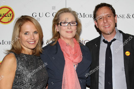 Katie Couric, Meryl Streep and Lee Hirsch