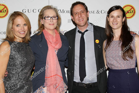 Katie Couric, Meryl Streep, Lee Hirsch and Cynthia Lowen