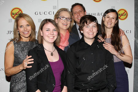 Katie Couric, Katy Butler, Meryl Streep, Lee Hirsch, Kelby Johnson and Cynthia Lowen