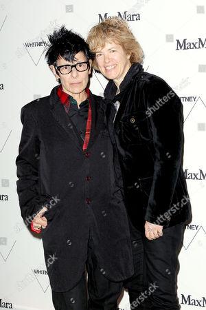 Elizabeth Streb and Laura Flanders