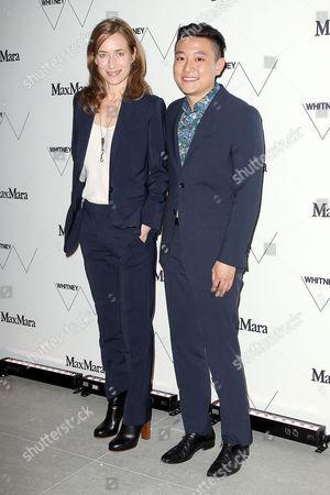 Stock Photo of Josephine Meckseper and Cory Nomura