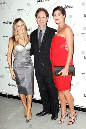 Stock Photo of Sarah Jessica Parker, Adam Weinberg and Maria Giulia Maramotti