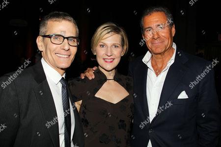 Michael Lombardo, Sue Naegle and Richard Plepler