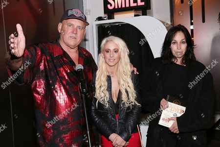 Dennis Hof, Krissy Summers and Heidi Fleiss