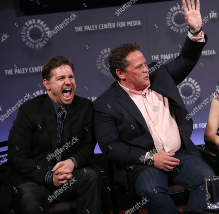 Greg Plageman (Producer; Person of Interest) and Kevin Chapman