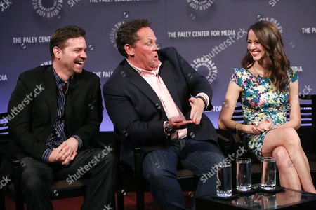Greg Plageman (Producer; Person of Interest), Kevin Chapman and Amy Acker