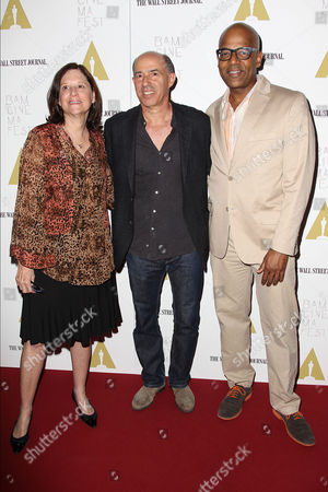 Karen Brooks Hopkins, Jon Kilik and Patrick Harrison