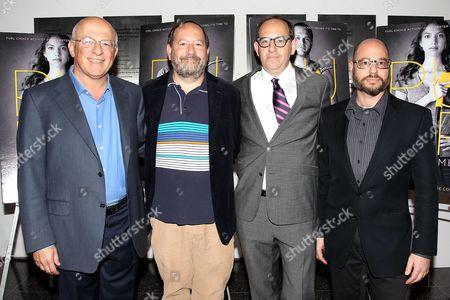 Yossie Hollander, Josh Braun, Dan Braun and Eyall Aronoff