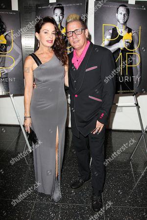 Deborah Drucker and Lee Rocker